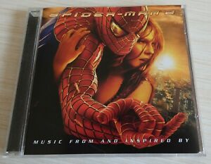 CD BOF SPIDER-MAN 2 MUSIQUE DE FILM 16 TITRES 2004 MUSIC FROM AND INSPIRED