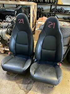 Mazda Mx5 Set of Black Leather Seats  ------ ( 29 )