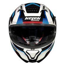 Nolan Full Face Helmet N87 Arkad N-com 40 Metal White M N870006420402