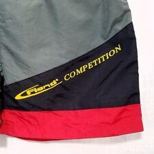 Fiend Competition Mens Swim Trunks Vtg 90s Shorts Colorblock Size Large