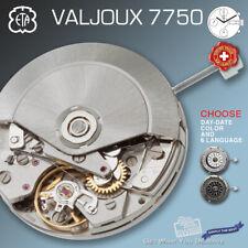 MOVEMENT ETA VALJOUX 7750, AUTOMATIC, ELABORE, SUNBRUSHED ROTOR