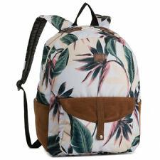 Roxy Caribbean Bright White Swim Lunar Flower Backpack