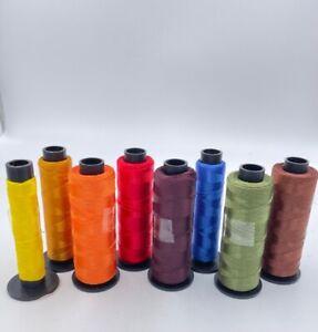 Stickgarn 85x 2000m Konen manifattura italiana cucirini Lustro 100% Polyester