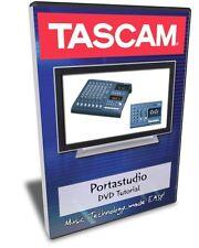 Tascam Portastudio DVD Training Tutorial (414, 424)