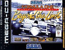 # formula one Beyond The Limit-Sega Mega-CD/MCD juego-Top #