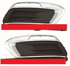 CHEVY CRUZE 2015-2016 LEFT RIGHT FOG LIGHT DRIVING LAMP COVERS BUMPER - PAIR