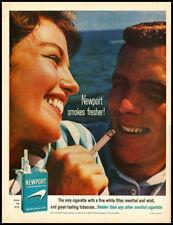 1964 vintage ad for Newport Cigarettes