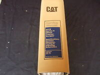 CAT CATERPILLAR 637E SERIES II WHEEL TRACTOR SCRAPER SERVICE REPAIR BOOK MANUAL