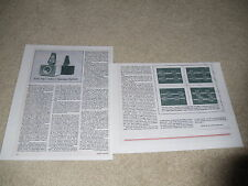 rTr PS/1 DAC/1 Rare Speaker Review, 2 pgs, Full Test