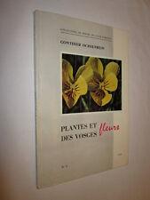 ALSACE: PLANTES et FLEURS des VOSGES GONTHIER OCHSENBEIN