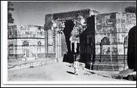 1959 INDIEN Indien Chitorgarh Ram Pole Vintage Postcard alte Postkarte