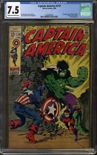 Captain America #110 CGC 7.5 (C-OW) 1st Appearance of Madame Hydra (Viper)