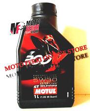 OLIO MOTORE MOTUL 300V 300 V 5W30 4T 100% SINTETICO FACTORY LINE RACING 1 LITRO