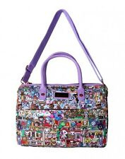 Tokidoki Roma Italy Rome Italia Anime Chibi Tote Handbag Bowler Bag TK1701501