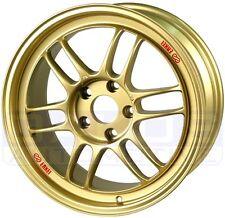 "ENKEI RPF1 Wheels 17x8"" 5x114.3 45mm Offset STi Civic GOLD Rims 379-780-6545GG"