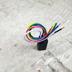 22mm Custom Billet Push Button Plug n Play Switch Harness Ignition Starter Light