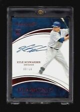 Kyle Schwarber Immaculate DIAMOND INSCRIPTIONS Auto Rookie #/10! Chicago Cubs RC