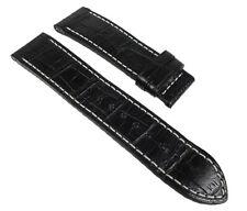 Jaguar Correa Reloj Cuero Banda Negro - Para Cierre Desplegable J614