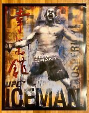 "UFC Poster CHUCK LIDDELL Amazing ""27X34"" NEW! (2009)"
