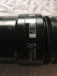 AF NIKON NIKKOR 70-200mm Lens