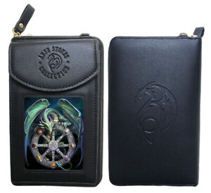 Stunning Anne Stokes 3D Phone + Purse Wallet - Magical Dragon -