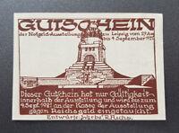 LEIPZIG NOTGELD 50 PFENNIG 1921 EMERGENCY MONEY GERMANY BANKNOTE (8675)