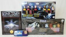 Lot of Star Wars & Star Trek PEZ Collectible Dispensers & Other Items