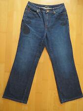 schicke Jeans mit interessantem Print, Rosner, Gr. 40