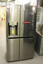 LG GSL960PZBV American-Style Fridge Freezer, Silver