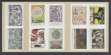 Belgium Sc 2589a MNH. 2012 Pierre Alechinsky Paintings, Booklet Pane of 10, VF