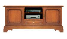 Meuble Tv style classique en bois, meuble 2 portes, meuble de salon, meuble tv