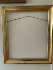 Vintage Picture Frame Wood Gold Color Size  22.5x26.5 and 23x19 Inches