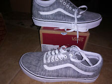 NEW $65 Mens Vans Old Skool Shoes, size 9.5    (or womens size 11)