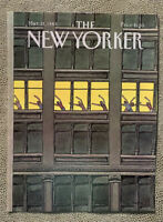 COVER ONLY ~ The New Yorker Magazine, March 21, 1983 ~ Roxie Munro