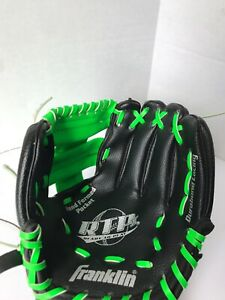 """Youth Franklin RTP Ready To Play 24850 9"""" Baseball T-BALL Glove Right Hand Throw"""