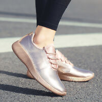 Women's Fashion Jogger Sneakers Lace Up Casual Sports Tennis Walking Shoes