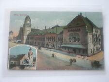 AK  Metz, Bahnhof,Feldpost Stempel Rh.Fussart.Regt.Nr 8. gel 1915