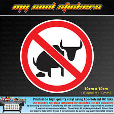 No Bull Shit 10cm Vinyl Sticker Decal, 4X4 Ute Car Truck funny bullshit country