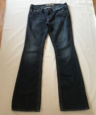 "Big Star 28L Jeans Womens ""Casey"" Mid-Rise Distressed Preowned"