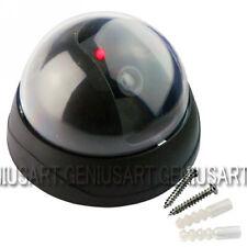 1 Pieza Cámara Simulada Falsa Con LED para Simulación Vigilancia de Seguridad