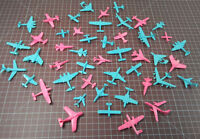 Lot of 47 MPC Small Plastic Toy Plane Set - Multiple Products Corporation