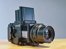 Mamiya RZ67 Pro 6x7 medio formato cámara + Lente 90mm F3.5 + 120 película Back