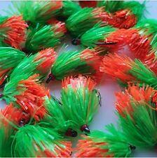 Nero /& Rosso e Oro confezione da 12 Rosso pesca Mosche Trote Mosche Applicazioni Bloodworms