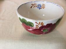 Chanticleer ware tea bowl Belle Fiore, Simpsons, hand painted