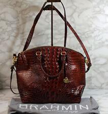 Brahmin Pecan Large Melbourne Leather Buxbury Handbag (AP 527 )