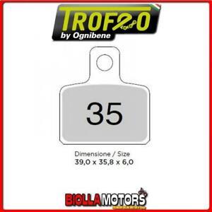 43003500 PASTIGLIE FRENO POSTERIORE OE GAS GAS TXT 200 PRO 2004-2009 200CC [ORGA