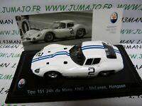 MAS43S voiture 1/43 LEO models MASERATI TIPO 151 24 heures Du Mans 1962 McLaren