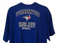 TORONTO BLUE JAYS MLB Genuine Merchandise Blue T Shirt, Mens Big & Tall
