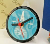 *new* CHINA CRISIS - RECORD CLOCK actual VINYL RECORD CENTRE Desk / Side Table