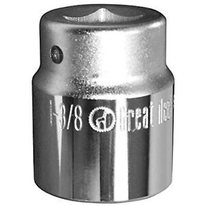 GreatNeck 3/4 Drive 12 Point Socket - 1 3/8 Inch